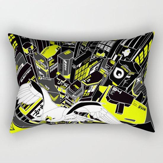 Horus Rising Rectangular Pillow