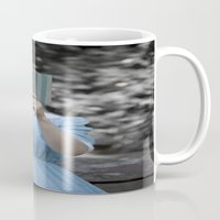 reading Mugs featuring Reading by Maria Heyens