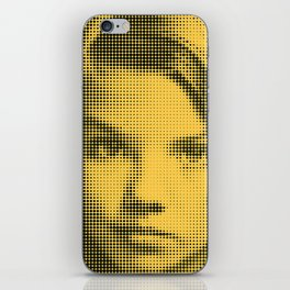 Face of raster iPhone Skin