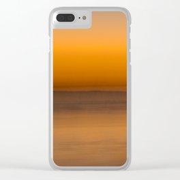 Seascape 012 Clear iPhone Case