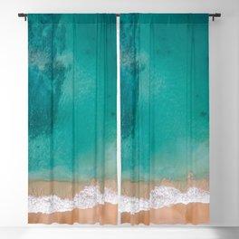 Beach and Sea Blackout Curtain