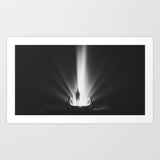 Walk into the Light Art Print