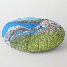 Gromllech Rock Arch Floor Pillow