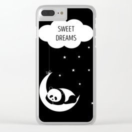 Sweet dreams Clear iPhone Case