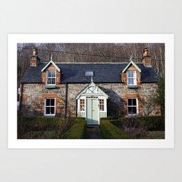 The House - Scotland Art Print