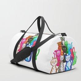 Gang of cats Duffle Bag
