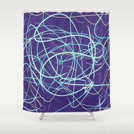 Cold Frustration Shower Curtain