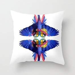 Tropical Elephant by Fernanda Quilici Throw Pillow