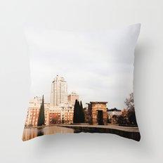 Templo de Debod Throw Pillow
