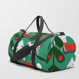 Christmas evergreens Duffle Bag