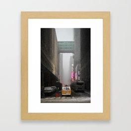 Snow Empire - NYC Framed Art Print