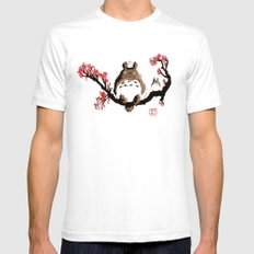 Traditional Toto White Mens Fitted Tee SMALL