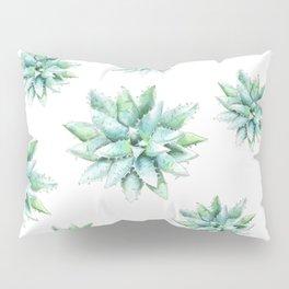 Succulent Star Pillow Sham