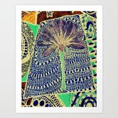 Jardin 4 Art Print