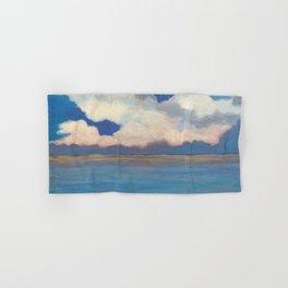 Pink Clouds at Sea Hand & Bath Towel