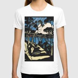 """Harbour Foreshore"" by Margaret Preston T-shirt"