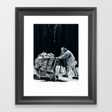Tonight I'm Going To Be Alright Framed Art Print