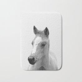 Baby Horse, Farm Animal Print Bath Mat