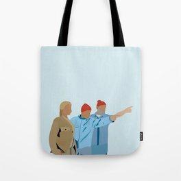 The Life Aquatic with Steve Zissou: Minimalist Poster Tote Bag