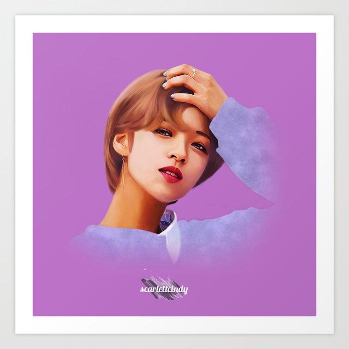 Jeongyeon - Twice (TT) Art Print