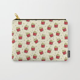 Pattern design with hand drawn elements Carry-All Pouch