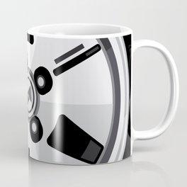 Wheel Design Retro JDM Racing Dish Coffee Mug