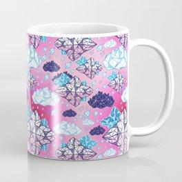 Beautiful geometric clouds with the rain coming Coffee Mug