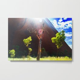 Beauty at Uluru Metal Print