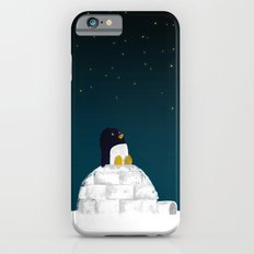 Star gazing - Penguin's dream of flying Slim Case iPhone 6