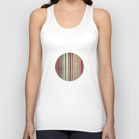 stripes Tank Tops featuring Stripes by thinschi