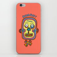 human iPhone & iPod Skins featuring Human  by PINT GRAPHICS