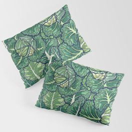 dreaming cabbages Pillow Sham