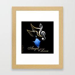 Angel of Love  Framed Art Print