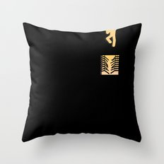 Out of Sin  Throw Pillow