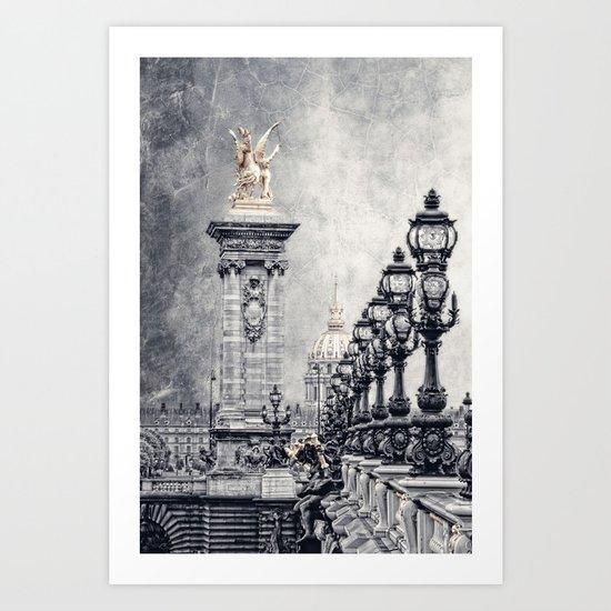 Paris pompous Art Print