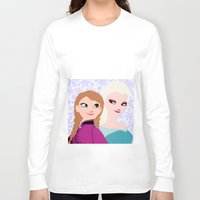 frozen Long Sleeve T-shirts featuring Frozen by Sammycrafts