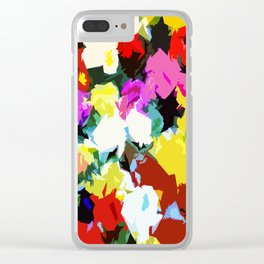 Petal Party Clear iPhone Case