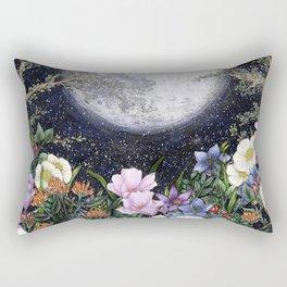 Midnight in the Garden II Rectangular Pillow