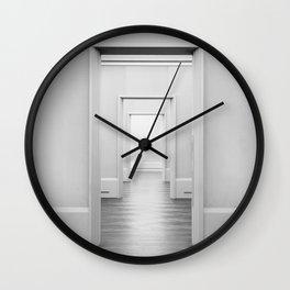 Doors Minimal Interior Wall Clock