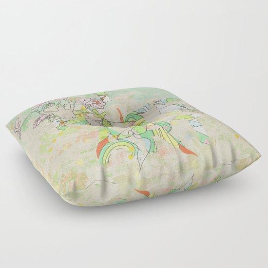 I HATE ART Floor Pillow