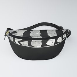 Trumpet Player Evolution Moon Musician Fanny Pack