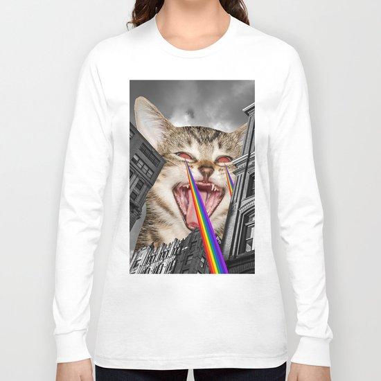 THE CAT STRIKES BACK  Long Sleeve T-shirt