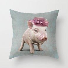 Miss Piggy Throw Pillow