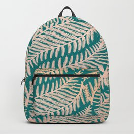 Summer Fern Pattern Backpack