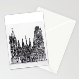 Rouen Cathedral Stationery Cards