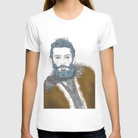 beard T-shirts featuring beard by katiwo