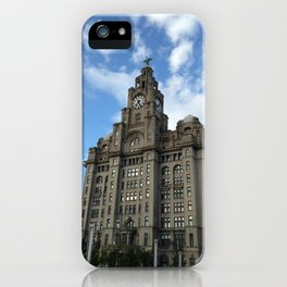Time flies high in the clouds iPhone Case