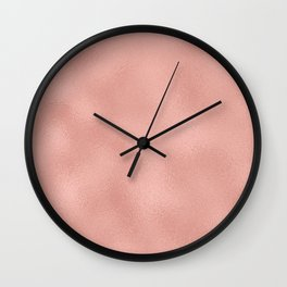 Rose gold - Touch of Rose Wall Clock