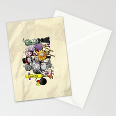Time is a Circus Stationery Cards