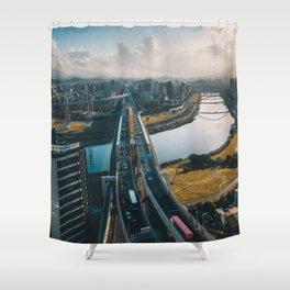 Taipei Highway Shower Curtain